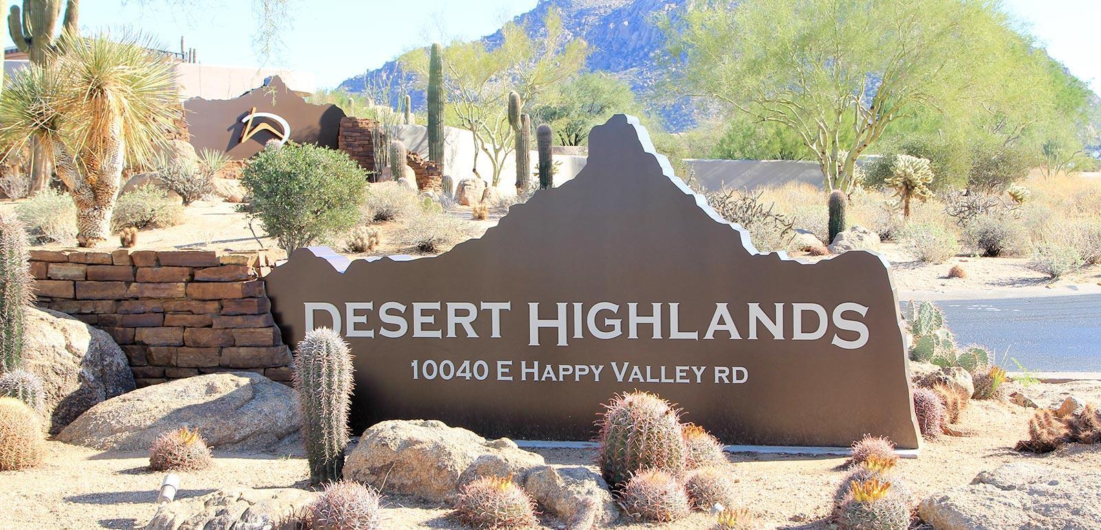 desert highlands