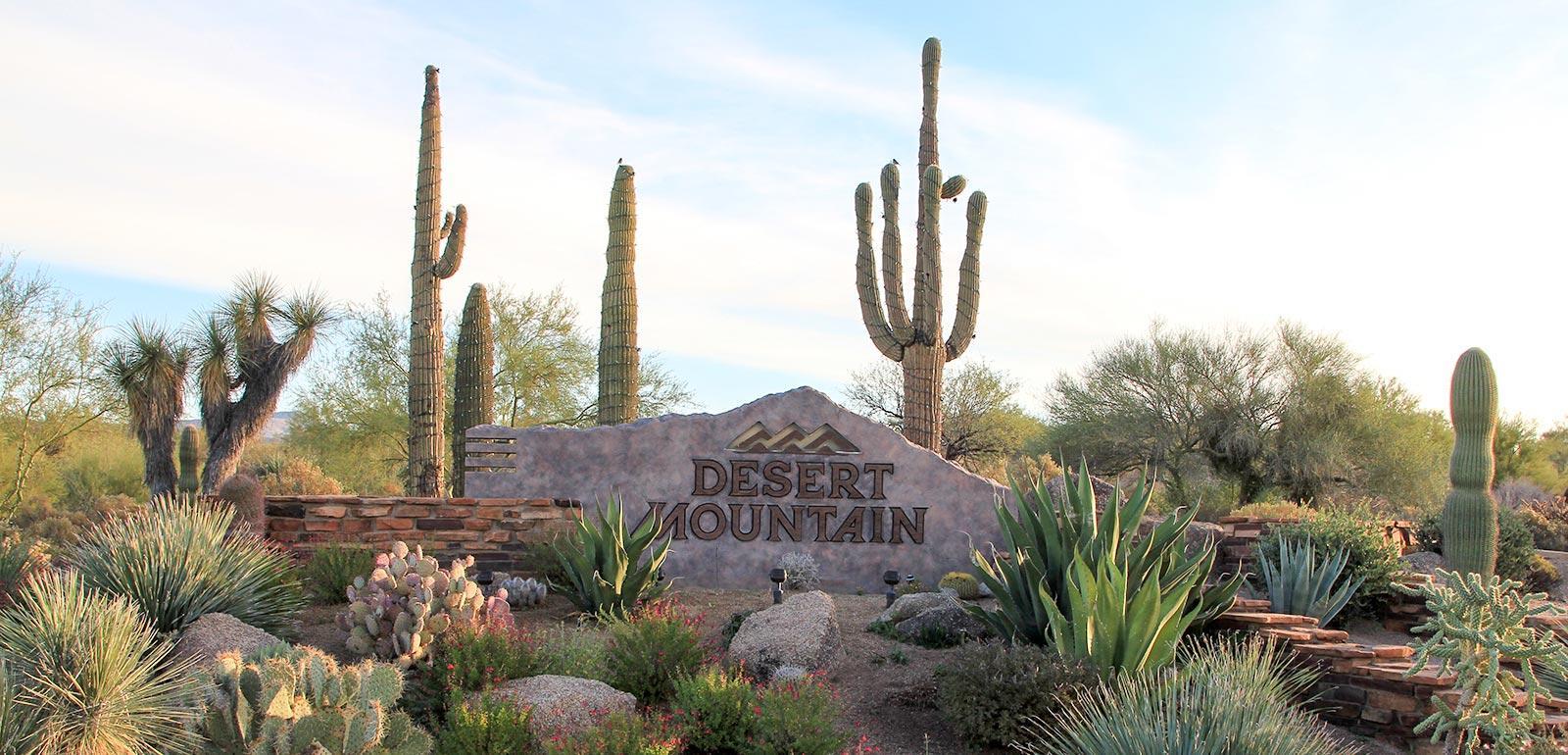 Desert Mountain Homes